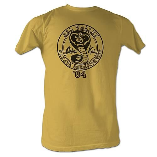 Karate Kid Officially Licensed Cobra Kai Championship 1984 T-Shirt (Extra Large XL)