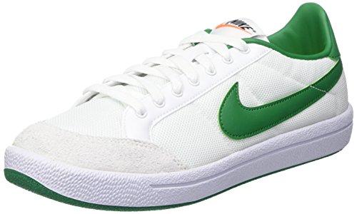 Nike Herren Meadow '16 Txt Turnschuhe, Blanco (White / Pine Green), 44 1/2 EU