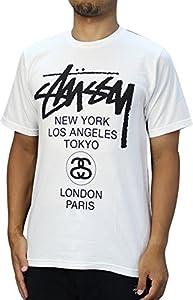 STUSSY (ステューシー) Diametric WT SS Tee 半袖Tシャツ [並行輸入品]
