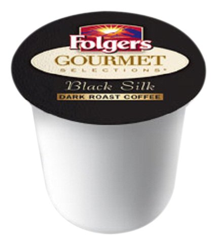 Folgers Gourmet Selections Coffee, Black Silk, K-Cup Portion Pack For Keurig K-Cup Brewers, 12-Count (Pack Of 3)