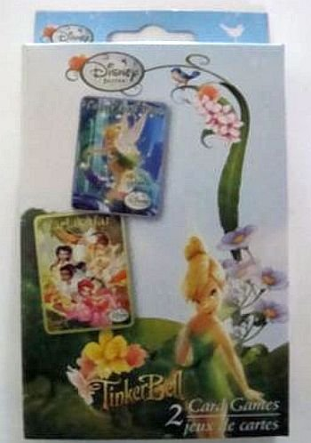 Disney Fairies TinkerBell 2 Card Games