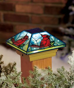 Amazon Com Cardinal Solar Post Cap Light Deck Porch