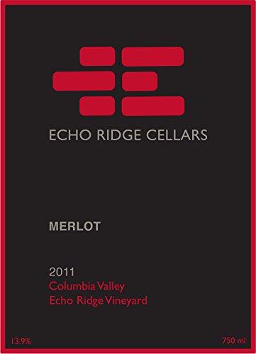 2011 Echo Ridge Cellars Columbia Valley Estate Merlot 750 Ml