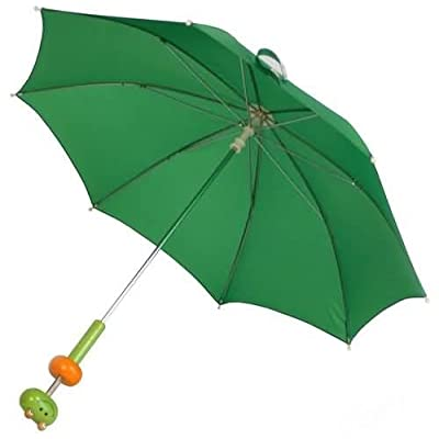 Children's Green Frog Umbrella