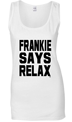 Frankie Says Relax Women's Tank Top S to XX-Large