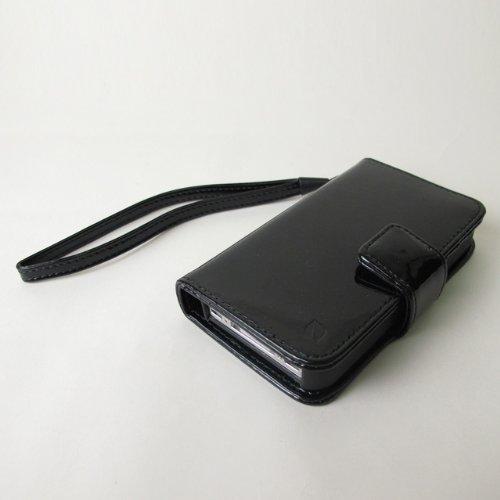 inCase BLACK アップル社公認ブランドiPhoneケース 4/4S対応incase インケース レザースナップショットクラッチ 手帳タイプでカードも収納可  ES89045