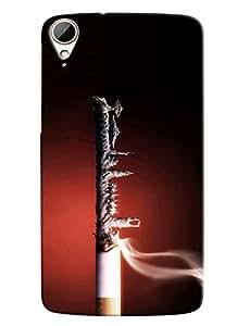 Clarks Printed Designer Back Cover For HTC Desire 828