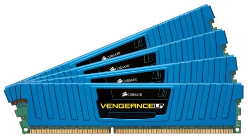 Corsair CML16GX3M4A1600C9B LP Vengeance 16GB 1600MHz CL9 DDR3 Four Module Kit