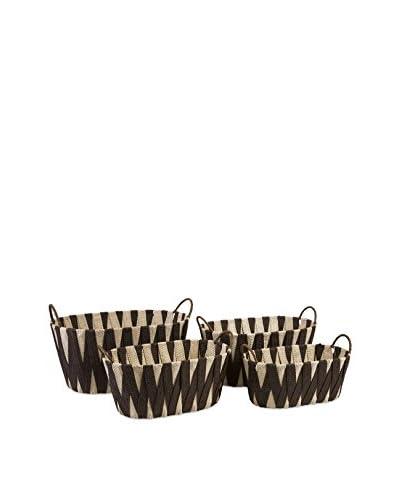 Set of 4 Lahja Woven Baskets