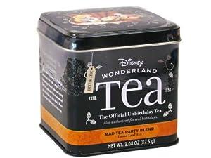 DISNEY PARKS EXCLUSIVE Wonderland Official Unbirthday Mad Tea Party Blend Loose Leaf Tea