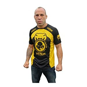 "Venum ""Wand Training"" T-shirt - Black/ Yellow"
