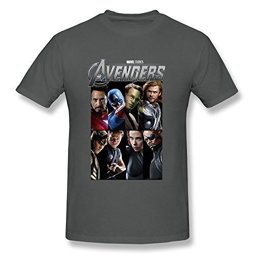GOOOSO Men's The Avengers Super Hero Fashion T-shirt O-neck