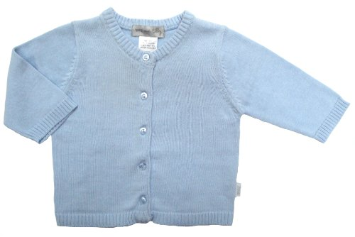 Max and Tilly Baby Cardigan in Pale Blue size Newborn