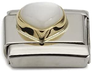 Nomination - 030501 - Bijoux - accessoires Mixte - Coeur - Coeur - Acier inoxydable et Or jaune 18 cts