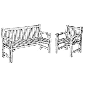 Woodwork Plans English Garden Bench PDF Plans