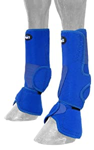 Tough 1 Performers 1st Choice Combo Boots, Royal Blue, Medium