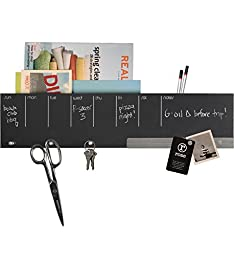 Three By Three Seattle Sort It Out! Chalkboard, Wall Caddy (35509)