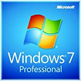 New Microsoft Windows 7 Professional 64-bit 1 PC License and Media PC Engl