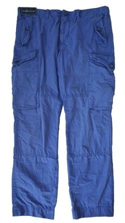 Polo Ralph Lauren Men's Canadian Cargo Pants-VintageBlue-36W X 30L
