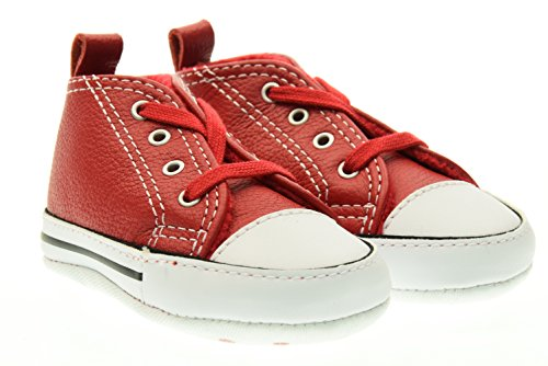 CONVERSE 855120C FIRST STAR RED WHITE SNEAKERS Bambino RED WHITE 17