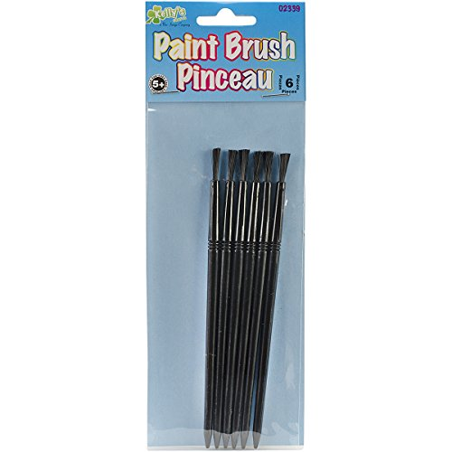 New Image Group 2339 Paint Brush, 6-Pack