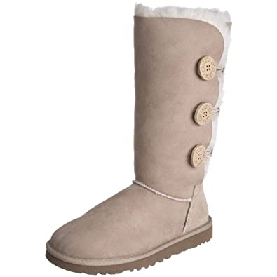UGG Australia Bailey Button Triplet Womens Boots 8.0 Sand