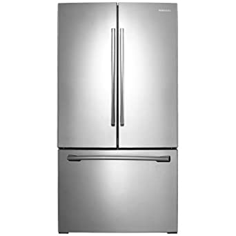 """Samsung RF261BEAE 36"""" French-Door Refrigerator with Cool Select Pantry Storage and Internal Filter, Stainless Steel"""