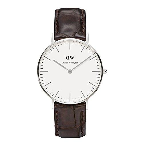 Daniel Wellington Damen-Armbanduhr York Analog Quarz Leder 0610DW