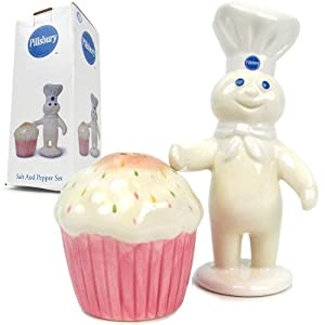 Amazon Com Pillsbury Doughboy Salt Amp Pepper Shakers