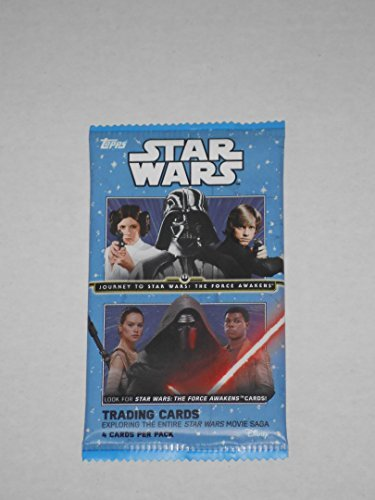 Star-Wars-Journey-To-Star-Wars-The-Force-Awakens-Trading-Card-Pack-4-Cards-to-Pack