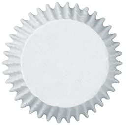 Wilton Baking Cups, Mini, White, 300-Count