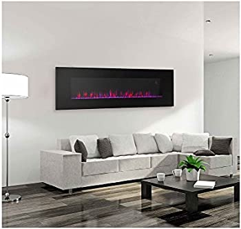 Contemporary Electric Fireplace 50