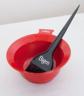 bigen mixing bowl amp tint brush combo color tools