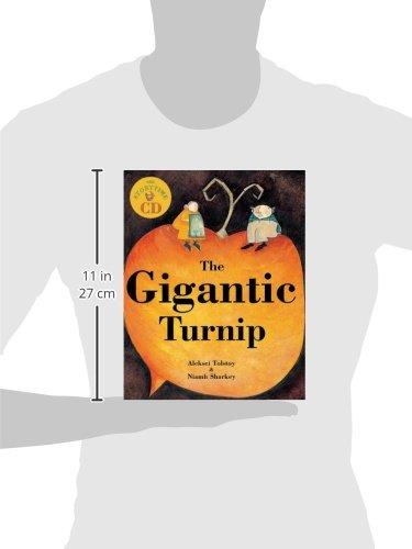 The Gigantic Turnip (Book & CD)