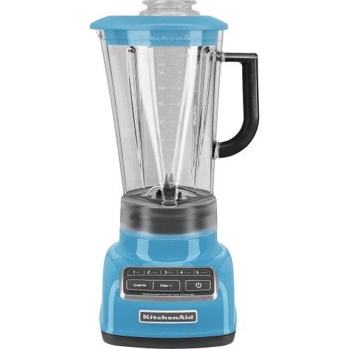 Kitchenaid Diecast 5-Speed Blender Ksb1575Cl Diamond Vortex Blade Crystal Blue front-456264
