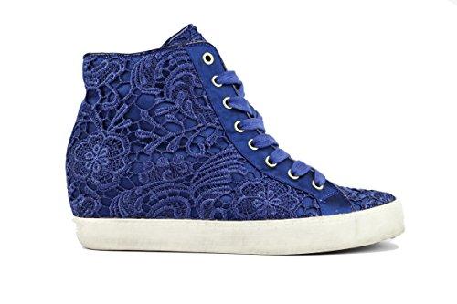 COLORS OF CALIFORNIA AH580 sneakers donna 39 EU tessuto blu