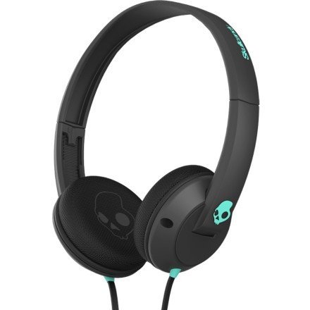 Skullcandy Uprock Headphones With Mic Carbon/Carbon/Mint, One Size