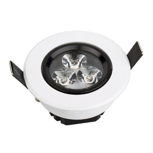 Domire High Quality Led Day White 3W Recess Downlight Ceiling Lamp Replace 25W Incandescent Bulb Energy Efficient Lights