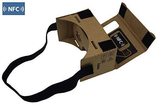 Google Cardboard 3d Vr Virtual Reality DIY 3D Glasses for Smartphone with NFC and Headband