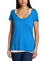Wrangler Camiseta Manga Corta (Azul)
