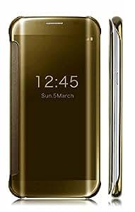 Original Delkart Mirror Flip Case For Samsung Galaxy Note 5(Gold)