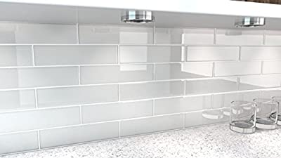 City Gray Glass Tile. Perfect for kitchens and bathrooms. by Bodesi - Mosaic and Glass Tile