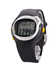6 in 1 Sport Watch with Heart Pulse Rate Monitor Calorie Counter