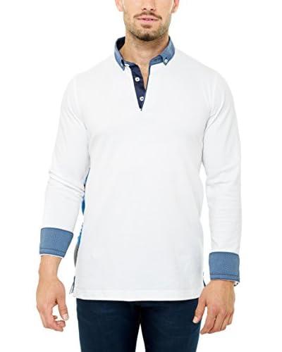 Maceoo Men's Long-Sleeve Polo