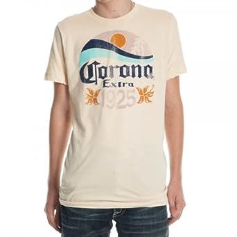 Amazon.com: Corona Extra 1925 Mens Beige Tee: Clothing