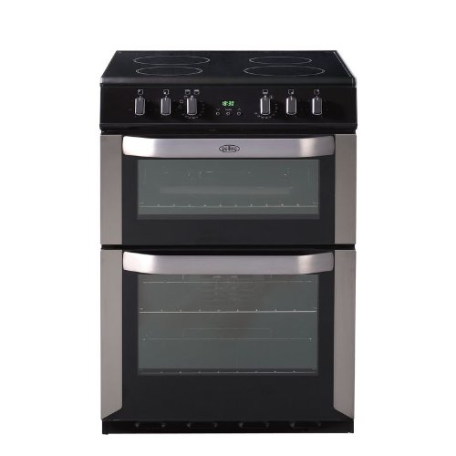 Belling FSE60DOP Freestanding Electric Cooker in Stainless Steel, 'A/A' energy efficiency rating - 60cm wide