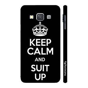 Enthopia Designer Hardshell Case Suit Up 1 Back Cover for Samsung Galaxy A7 2015