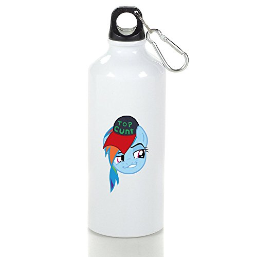 Top Cunt Cool Aluminum Sports Water Bottle - 400/500/600ML 600ml