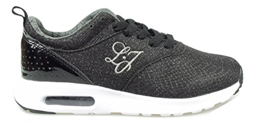 LIU JO GIRL SNEAKERS DONNA [UM22533] - 38, NERO
