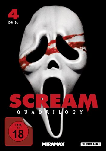 Scream Quadrilogy [4 DVDs]